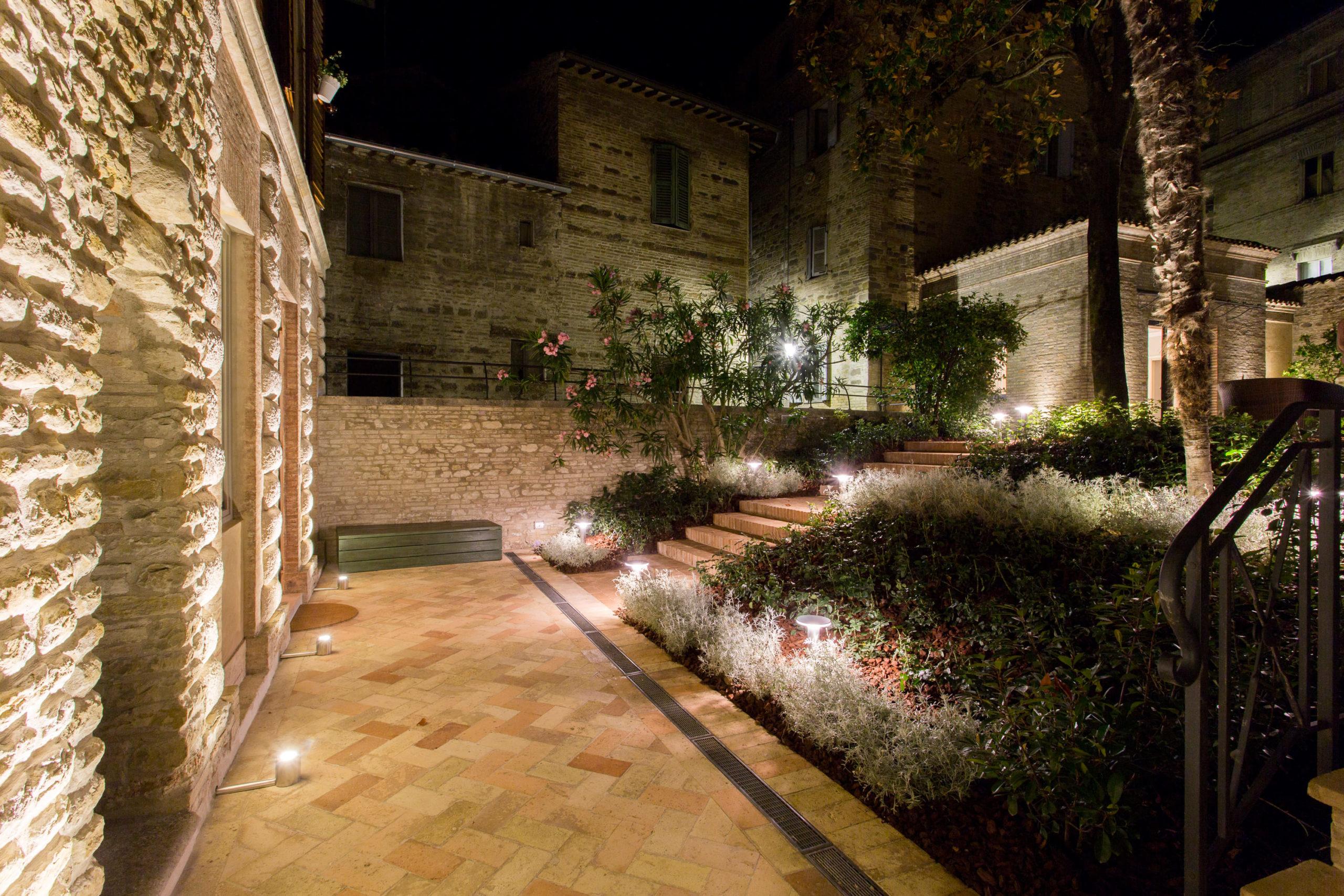 giardino due palazzo gentili