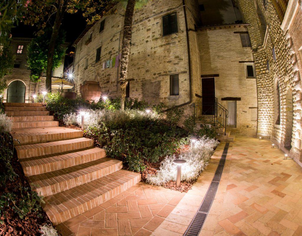 giardino otto palazzo gentili