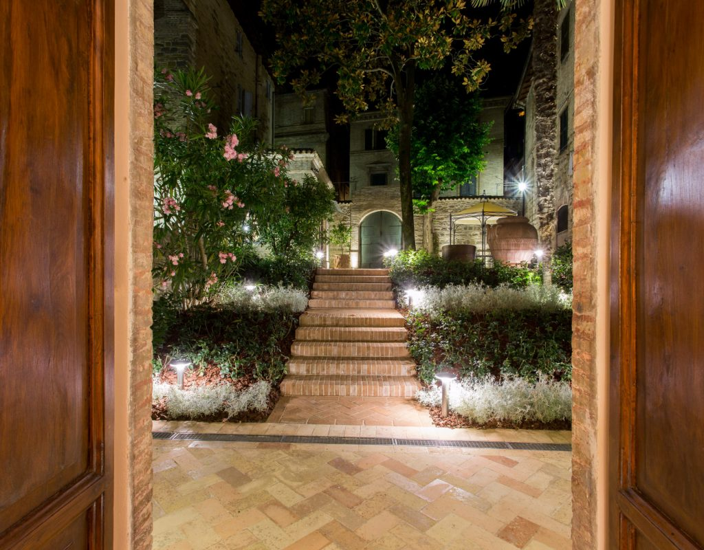 giardino uno palazzo gentili